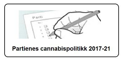 Partienes cannabispolitikk - liten