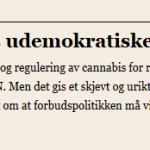Norges udemokratiske FN-prosess